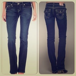True Religion Becky boot cut jeans /28/